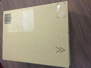 Amazonから届いたAmazon Echoの箱