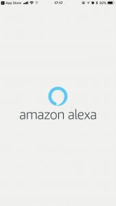 Alexaアプリ起動ロゴ