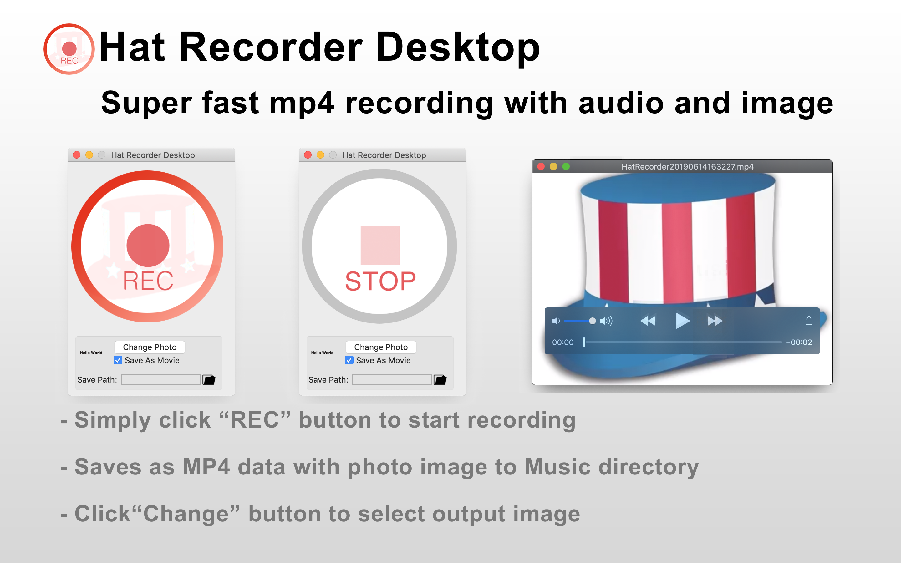 Hat Recorder Desktop